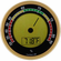 Caliber 4R Digital Hygrometer & Thermometer by Western Humidor in Gold