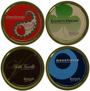 CAO Flavours Pipe Tobacco Tins
