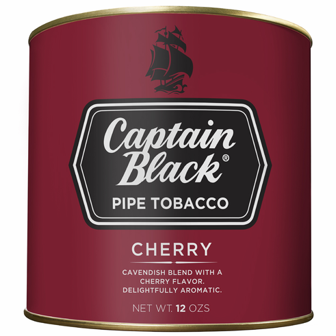 Captain Black Pipe Tobacco Regular Cherry - 12 oz. Can