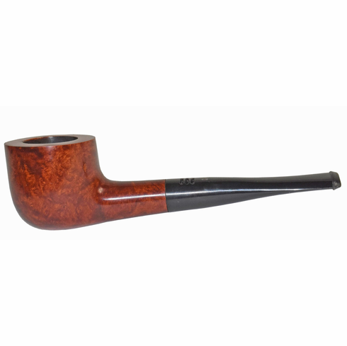 Carey Magic Inch Smoking Pipe - Straight Honey Brown Smooth Super Bowl IV