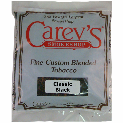 Classic Black Aromatic Pipe Tobacco - 7 oz.