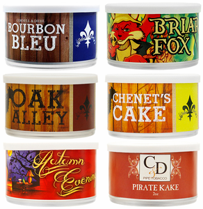 Cornell & Diehl Pipe Tobacco Cans