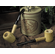 Diplomat Gift Set of Two Corncob Pipes - 1 Bent & 1 Straight