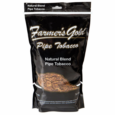 Farmers Gold Natural Loose Pipe Tobacco - 16 oz Bag