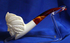 Medium Indian White Turkish Meerschaum Smoking Pipe