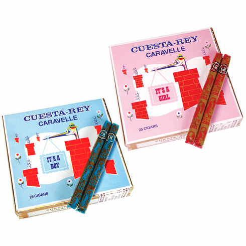 It's a Boy / It's a Girl Cuesta-rey Caravelle Birth Announcement Cigars