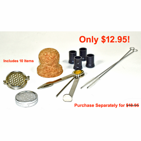 Little Handys Pipe Accessory & Cleaning Kit