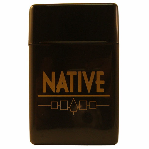 Native Flip Top Hinged Lid Sectioned Case for King Size