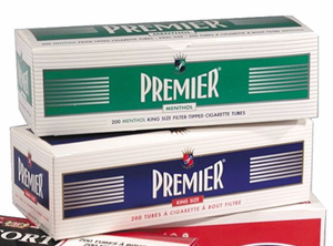 Premier Cigarette Tubes with Filters