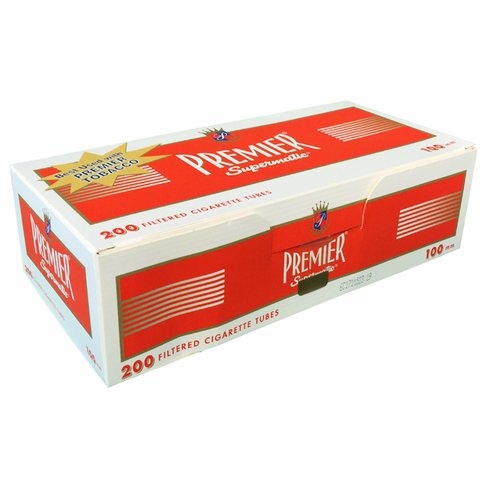 Premier Red 100mm Filter Cigarette Tubes