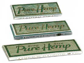 Pure Hemp Smoking Cigarette Rolling Papers