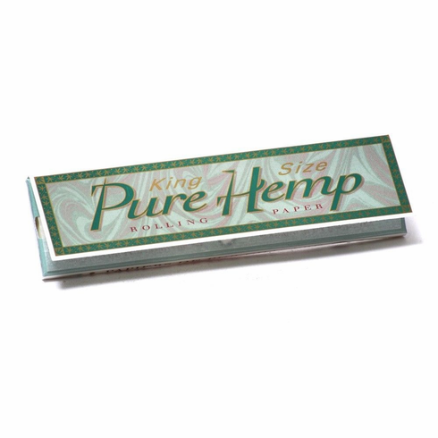 Pure Hemp Smoking Cigarette Rolling Papers - King Size