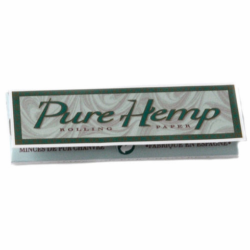 Pure Hemp Smoking Cigarette Rolling Papers - Size 1¼