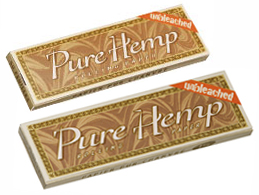 Pure Hemp Unbleached Smoking Cigarette Rolling Papers