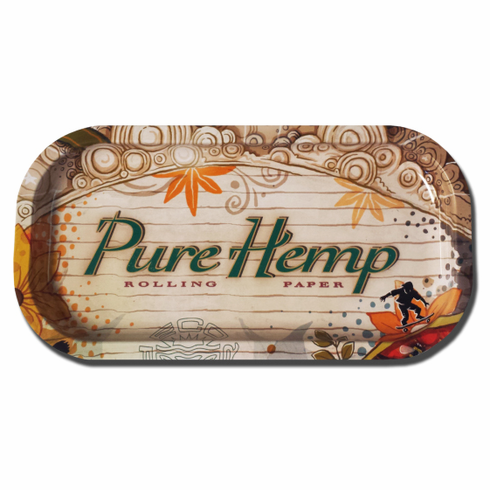 Pure Hemp X-Small Roll-Your-Own Cigarette Rolling Paper Tray