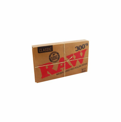 Raw Classic 300's Natural Unrefined Rolling Papers