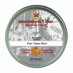 Revolution Tabac Pipe Tobacco 50g (1.76 oz) Personalized Tin