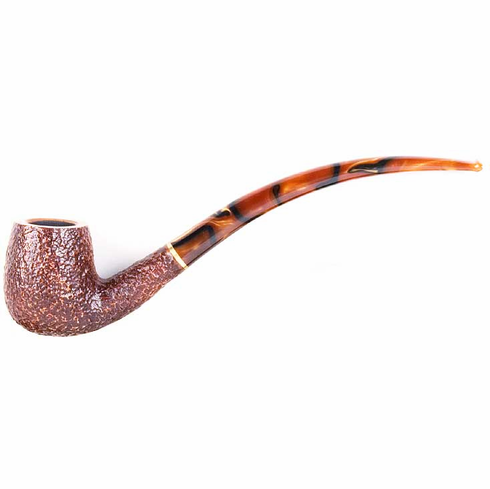 Savinelli Clark's Favorite Rustic Smoking Pipe
