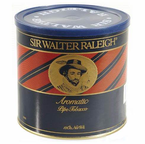 Sir Walter Raleigh Aromatic Pipe Tobacco 12 oz Can