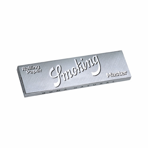 Smoking Master Silver Rice 1-1/4 Cigarette Rolling Papers