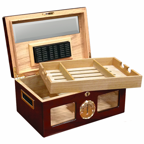 The Valencia Desktop Cigar Humidor