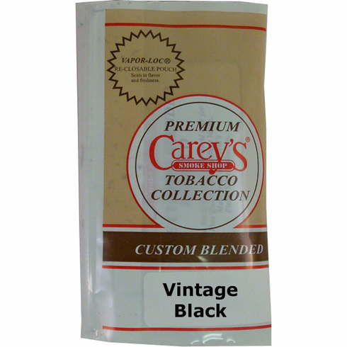 Vintage Black Aromatic Pipe Tobacco - 2 oz.