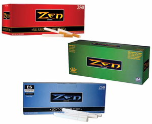 Zen Smoke Cigarette Tubes with Filters