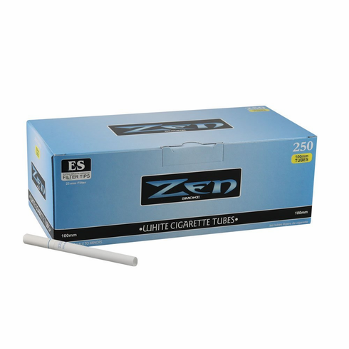 Zen Smoke White 100mm Filter Cigarette Tubes