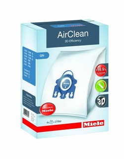 Miele AirClean 3D Efficiency Dustbags Type GN (4 bags + 2 Filters)