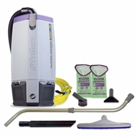 ProTeam 107303 Super Coach Pro 10 HEPA W/ 107100 Telescoping Wand Tool Kit