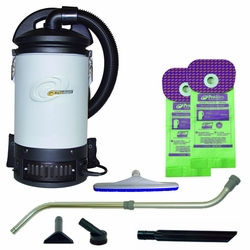 ProTeam 107278 Sierra Backpack Vacuum W/ 107100 Telescoping Wand Tool Kit