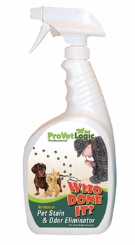 Who Done It? Pet Stain & Odor Eliminator