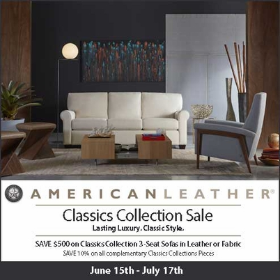 American Leather Classics Collection SALE!