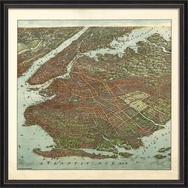 Antique Reproduction Maps by Spicher & Company