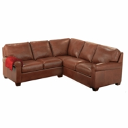 Savoy Sectionals<br />Choose fabric or leather
