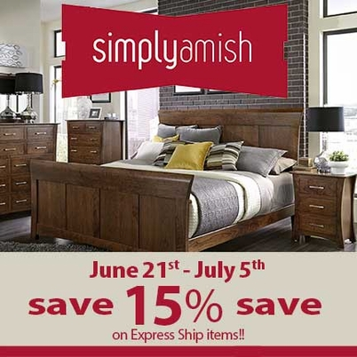 Simply Amish Express Ship SALE!