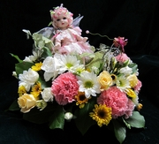 Baby doll in Carriage
