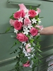 Casading bridal bouquet