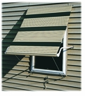 Frost Retractable Metal Window Awnings