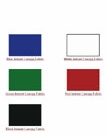 Instant Canopy Fabric Colors