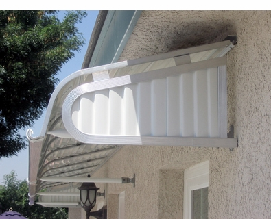 Vertex Metal Door Awnings