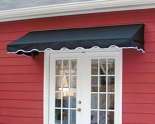 Fabric Window Awnings : Visor window awning