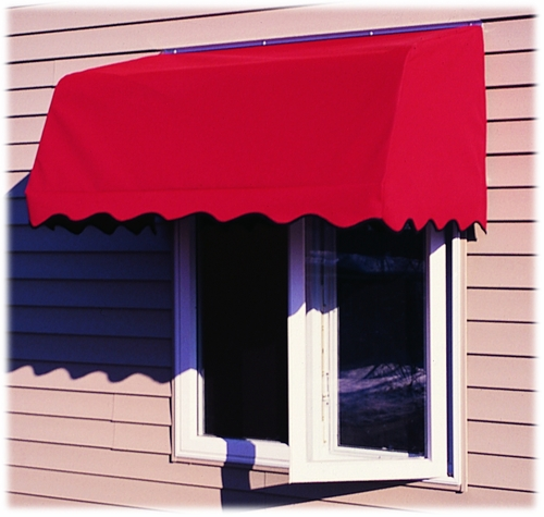 Canvas Window Awnings : Waterfront canvas awnings