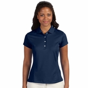 Adidas Golf Ladie's Climalite Solid Polo