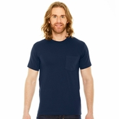 American Apparel Unisex Fine Jersey Pocket T-Shirt