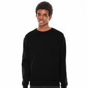 American Apparel Unisex Flex Fleece Drop Shoulder Pullover Crewneck