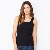 Bella Ladie's Rib Tank Top