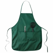 "Big Accessories Two-Pocket 28"" Apron"