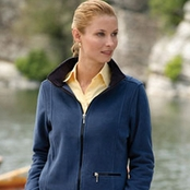 Chestnut Hill Ladies' Full-Zip Microfleece Jacket