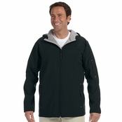 Devon & Jones Men's Hooded Soft Shell Jacket